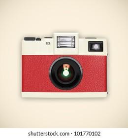 retro and vintage camera ,graphic design