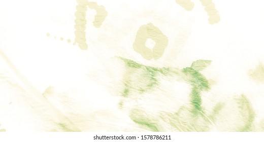 Retro Watercolour. Green Graphic Tie Dye. Dirty Art Ink Print. New Age Drawing. Boho Background. Green Beach Towel Pattern. Watercolor Dirty Art.