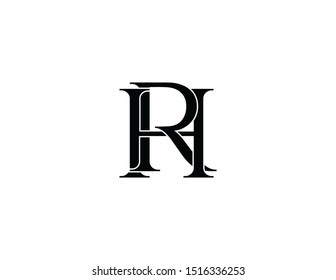 rh original monogram logo design