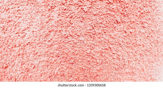 ribbed coral color wall for texture