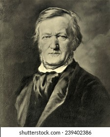 Richard Wagner (1913-1883) German composer composed epic operas based on German myths incorporating revolutionary musical expression.