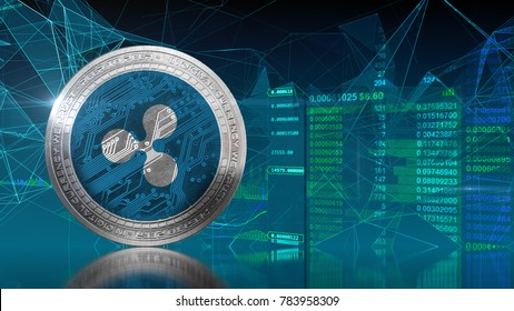 Ripple coin (XRP) Cryptocurrency. Ripple is a blockchain technology that acts as both a crypto currency and a digital payment network for  financial transactions