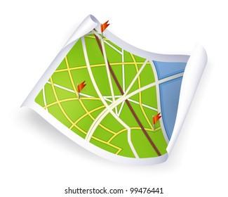 Road Map, bitmap copy