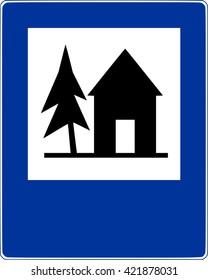 Road sign shelter