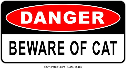 Road sign in USA: beware of the dog - naughty dog - guard dog
