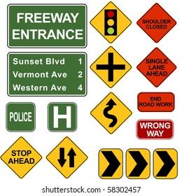 Road Signposts