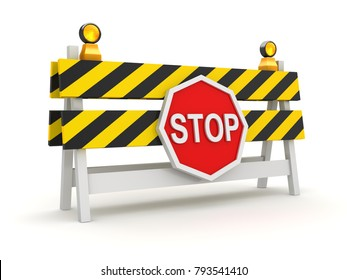 Roadblock Images, Stock Photos & Vectors | Shutterstock