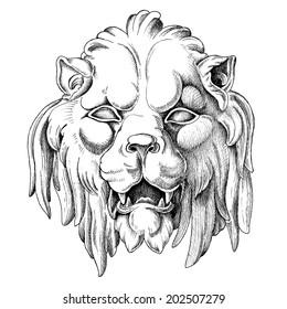 Lion Mask Images, Stock Photos & Vectors | Shutterstock