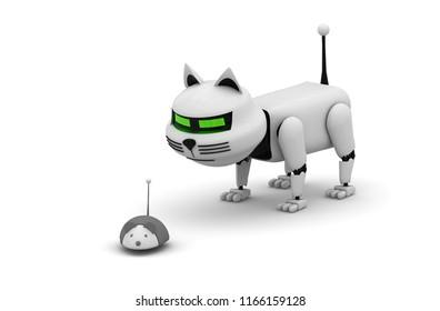 Mechanical Cat Images, Stock Photos & Vectors   Shutterstock