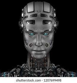 robot care face bani