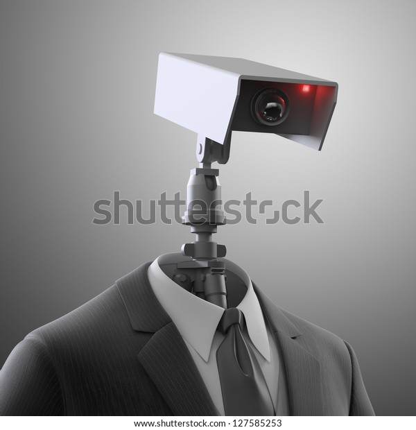 A robotic security camera - automated surveillance