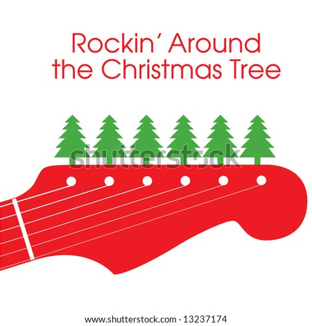 Rockin Around Christmas Tree Stock Illustration 13237174 Shutterstock