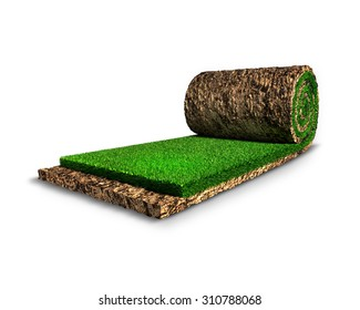Roll lawn