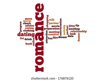 romance word cloud stock illustration 176876120 shutterstock