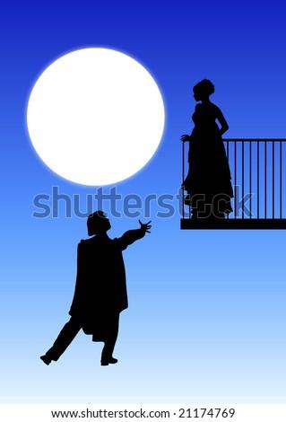 romeo juliet balcony scene