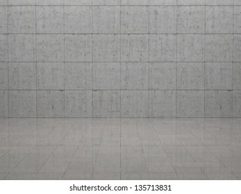 Room - Concrete and Slabs