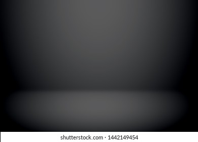 Room studio gradient used for background and display your product