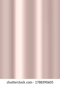 Rose Gold background. Elegant sleek bright gradients for a luxury faux foil effect. Trendy chic and feminine digital paper design.