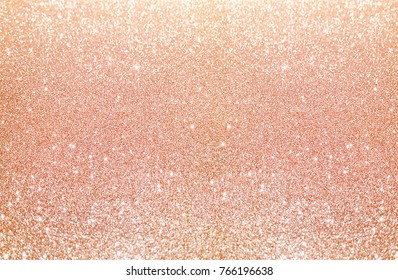 Rose Gold Sparkle Glitter Background