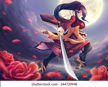 Rose samurai