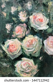 Rose Painting Images, Stock Photos & Vectors | Shutterstock