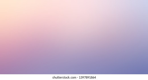 Rosy sky blurry simple background. Pink lilac gradient. Light delicate abstraction.