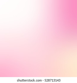 Rosy winter dawn blurred background. Abstract light pink texture.