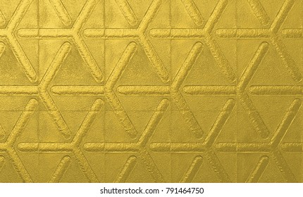 rough Gold metallic abstract background, rough golden geometric texture for creative surface designs, template, poster, banner, cards, presentation, backdrop, fabric and industrial designs