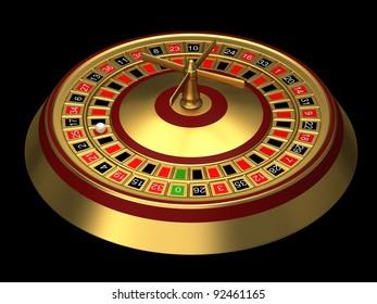 Golden Roulette Images, Stock Photos & Vectors | Shutterstock