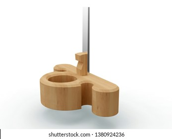Router Wood Plane, 3D model