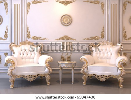 Merveilleux Royal Furniture In Luxury Interior
