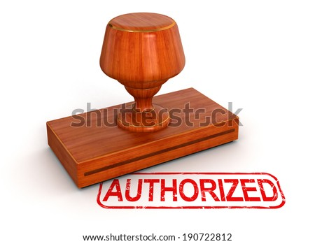 Rubber Stamp authorized