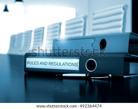 Rules And Regulations Business