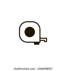 ruller icon. sign design