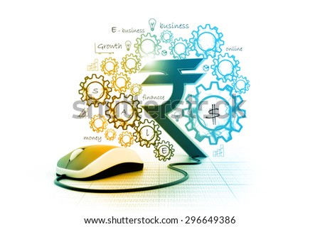 rupees symbol connected computer mouse stock illustration royaltyrupees symbol connected to a computer mouse