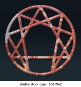 rusty 3d enneagram