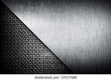 rusty diamond plate background