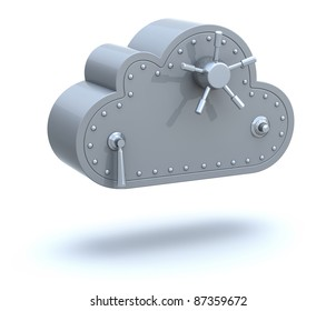 Safe cloud computing concept