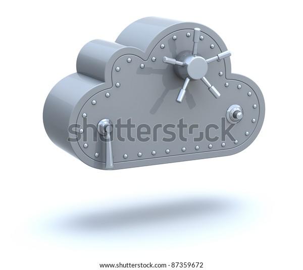 Safe cloud computing concept