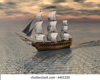 Sailing Ship - 2