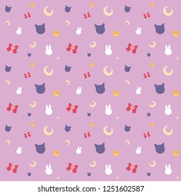 Sailor Moon pattern