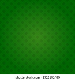 Saint Patrick's day seamless shamrock background
