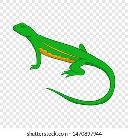 Salamander icon. Cartoon illustration of salamander icon for web