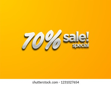 Sale banner template design, Big sale special, shop