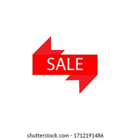 sale label line illustration icon on white background. Signs and symbols can be used for web, logo, mobile app, UI, UX