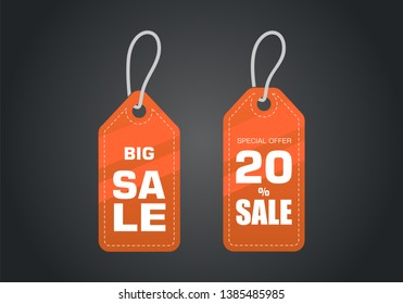 Sale offer badge. promo seals/stickers. Isolated illustration.