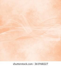 salmon background - silk fabric motif