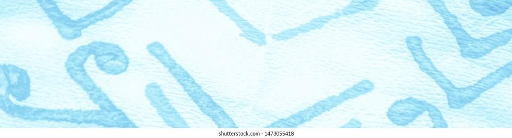 Salt Asian Flowers Style. Traditional Print. Nautical Hippie Batik. Portugal Ornament. Blue Mehndi Pattern. Art Batik Brush. Paisley Floral Style. Bohemian Ethnic.