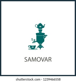 Samovar icon. Trendy Samovar logo concept on white background from Culture collection. Suitable for use on web apps, mobile apps and print media.