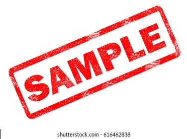 sample stamp on white background. sample stamp sign.